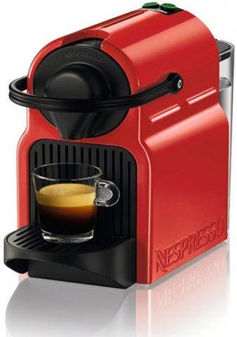 מכונת קפה Nespresso Krups Inissia - צבע אדום בדילים למתחתנים | 123 מזל טוב
